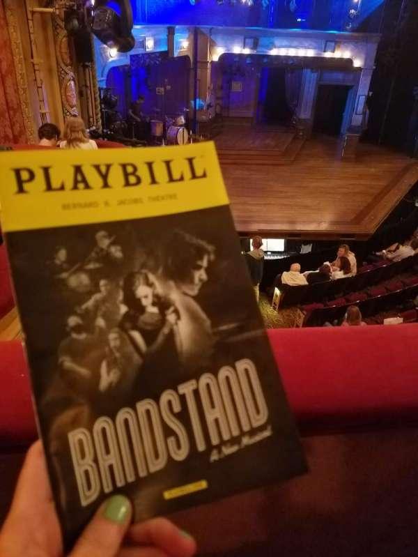Bernard B. Jacobs Theatre, Abschnitt: Mezz, Reihe: A, Platz: 27