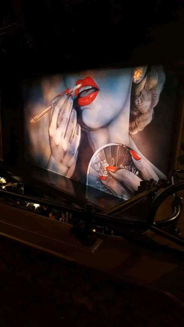 Nederlander Theatre, Abschnitt: mezz, Reihe: B, Platz: 24