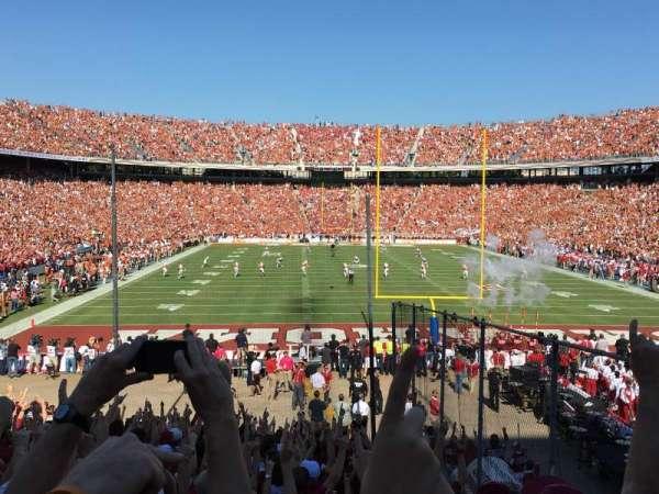 Cotton Bowl, Abschnitt: 34, Reihe: 29, Platz: 4