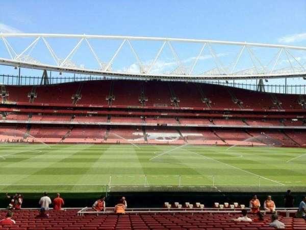 Emirates Stadium, Abschnitt: 1, Reihe: 22, Platz: 25