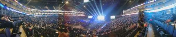 The O2 Arena, Abschnitt: 108, Reihe: V, Platz: 250