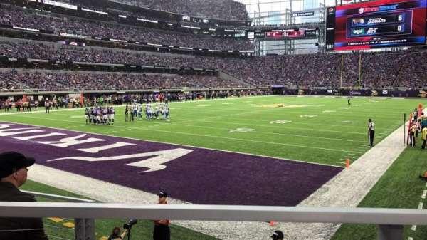 U.S. Bank Stadium, Abschnitt: 116, Reihe: 6, Platz: 10