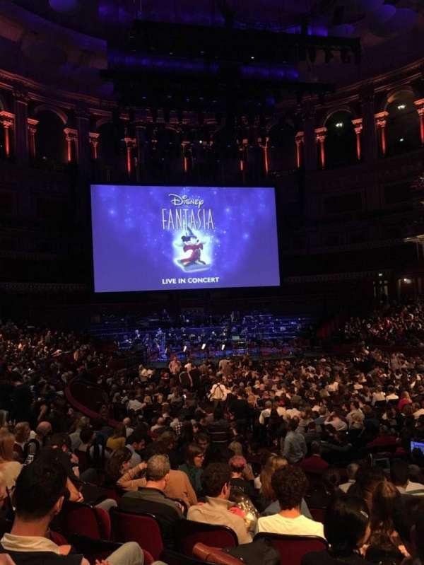 Royal Albert Hall, Abschnitt: Stalls J, Reihe: 10, Platz: 68