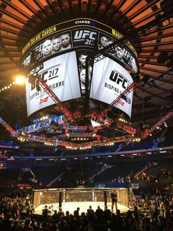 Madison Square Garden, Abschnitt: 109, Reihe: 10, Platz: 1