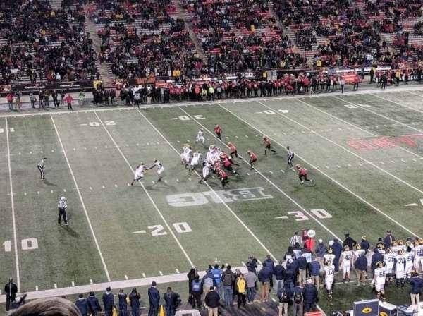 Maryland Stadium, Abschnitt: 203, Reihe: c, Platz: 19