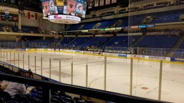 Mohegan Sun Arena at Casey Plaza, Abschnitt: 114, Reihe: H, Platz: 6