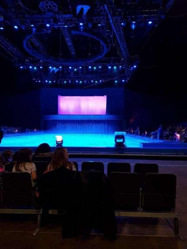 The O2 Arena, Abschnitt: D2, Reihe: B, Platz: 37
