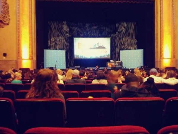 Balboa Theatre, Bereich: Orch, Reihe: M, Platz: 115