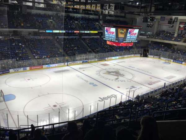 Mohegan Sun Arena at Casey Plaza, Abschnitt: 207, Reihe: F, Platz: 6