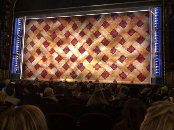 Nederlander Theatre, Abschnitt: Orch, Reihe: K, Platz: 115