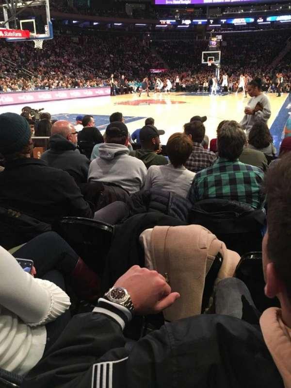 Madison Square Garden, Abschnitt: 9, Reihe: 5, Platz: 6