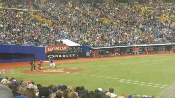 Olympic Stadium, Montreal, Abschnitt: 115, Reihe: TT, Platz: 12