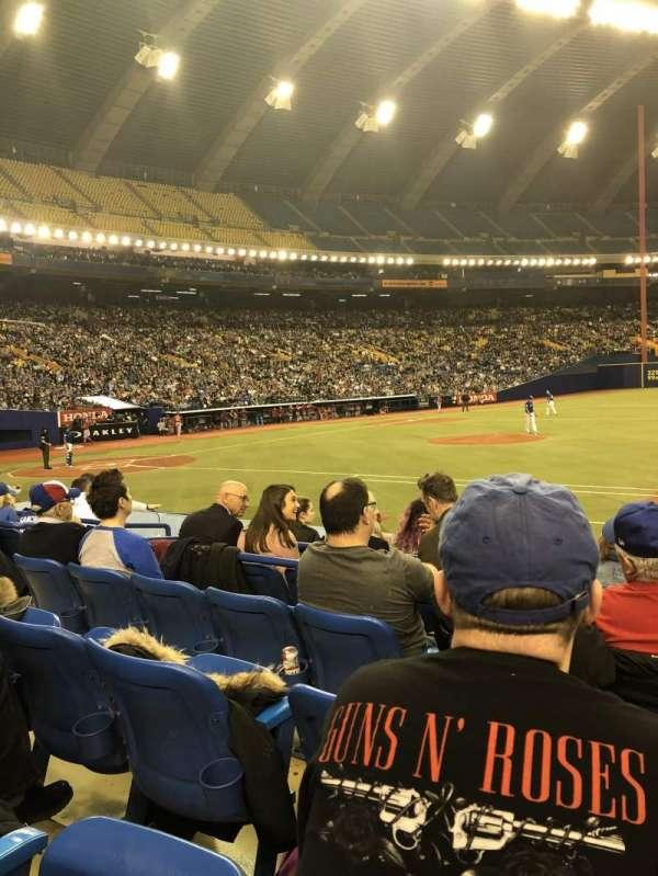 Olympic Stadium, Montreal, Abschnitt: 111, Reihe: Kk, Platz: 10