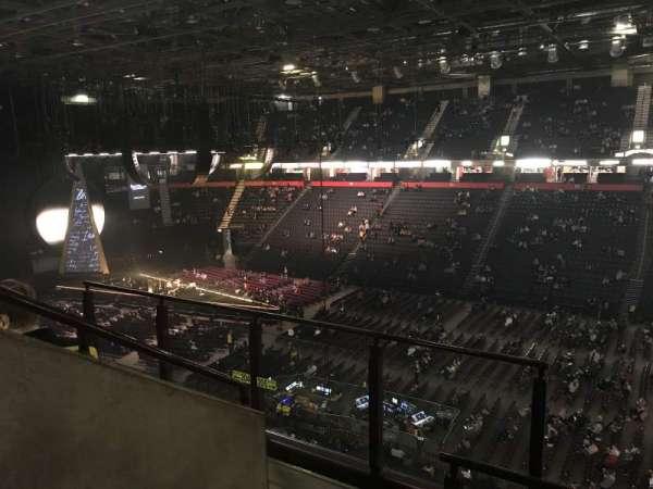 Manchester arena, Abschnitt: 205, Reihe: D, Platz: 1