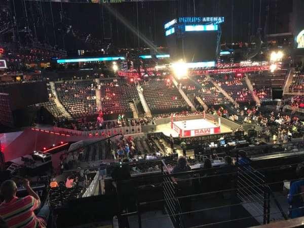 State Farm Arena, Abschnitt: 213, Reihe: F, Platz: 3