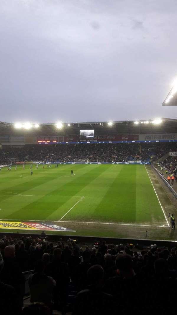 Cardiff City Stadium, Abschnitt: 122, Reihe: CC, Platz: 128