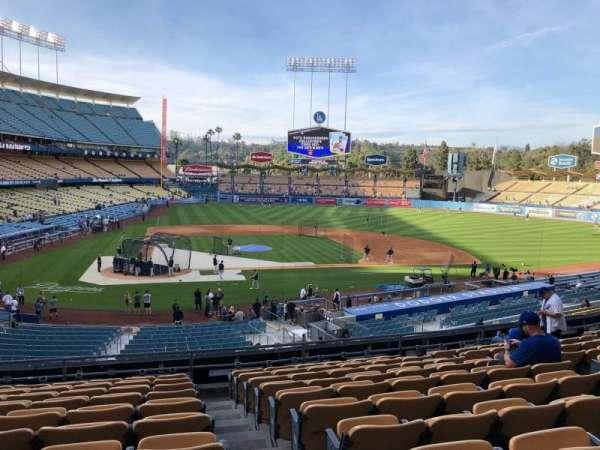 Dodger Stadium, Abschnitt: 120LG, Reihe: K, Platz: 4-7