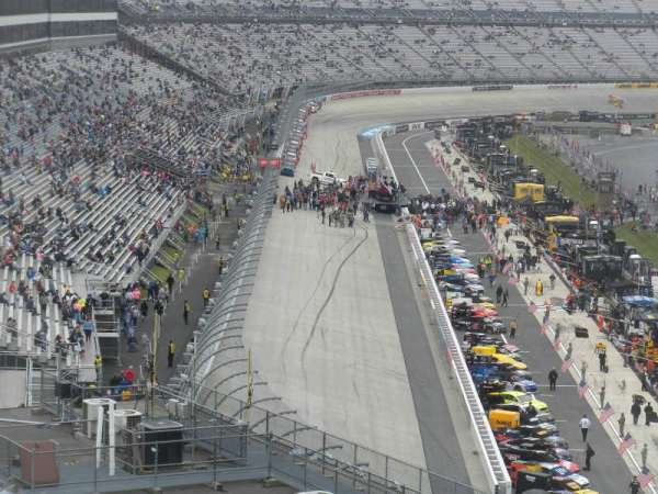 Dover International Speedway, Abschnitt: 237, Reihe: 36, Platz: 6