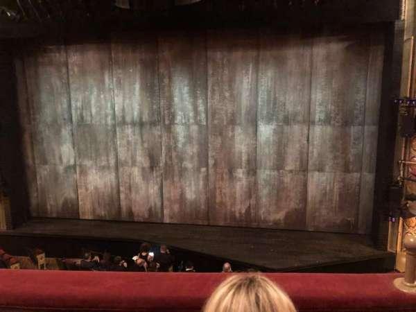Bernard B. Jacobs Theatre, Abschnitt: MezzC, Reihe: B, Platz: 102