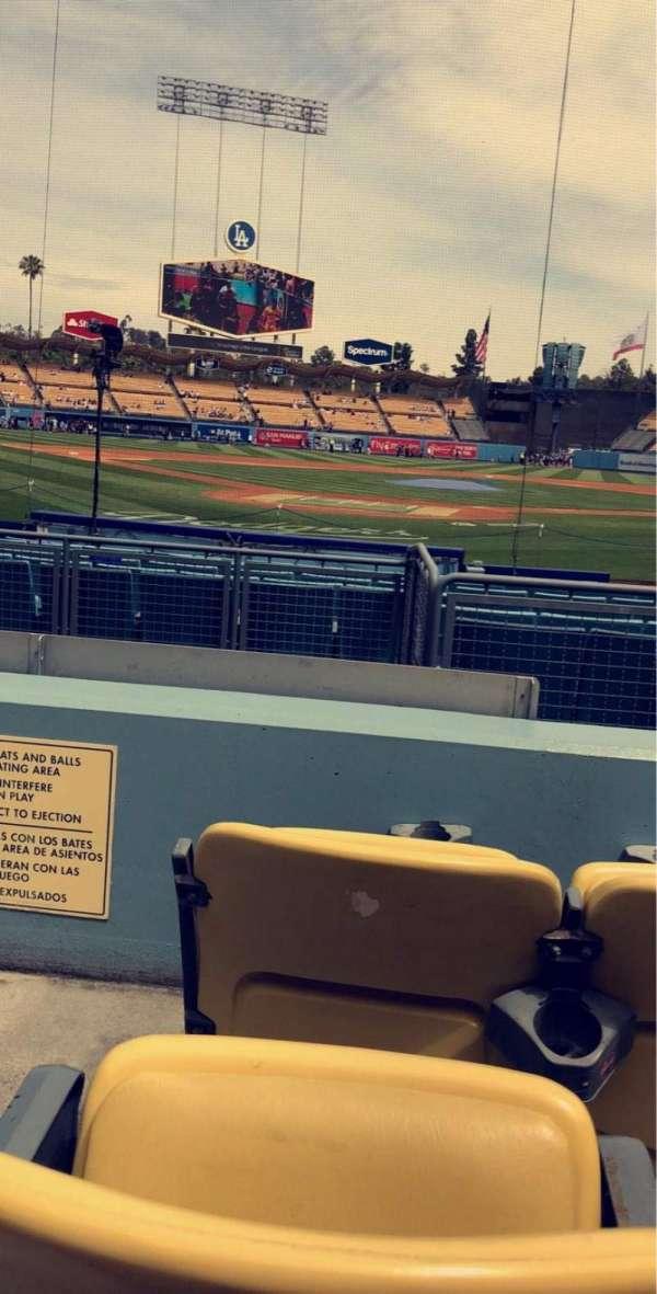 Dodger Stadium, Abschnitt: 4FD, Reihe: C, Platz: 1