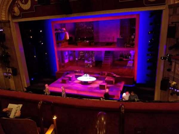 Booth Theatre, Abschnitt: Right Mezzanine, Reihe: C, Platz: 2