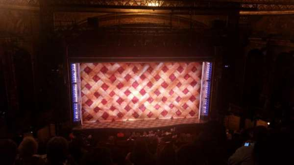 Brooks Atkinson Theatre, Abschnitt: Center Mezzanine, Reihe: K, Platz: 118