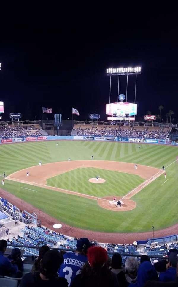 Dodger Stadium, Abschnitt: 5RS, Reihe: H, Platz: 12