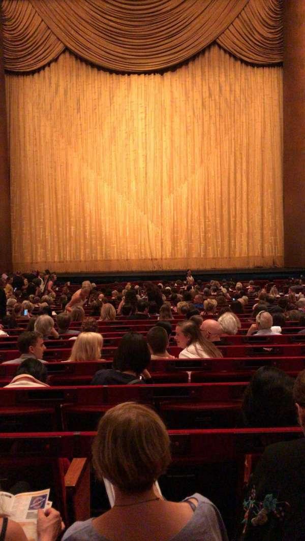 Metropolitan Opera House - Lincoln Center, Abschnitt: Orchestra, Reihe: Z, Platz: 110