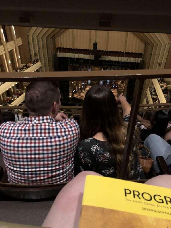 The Smith Center, Abschnitt: Balcony, Reihe: K, Platz: 233