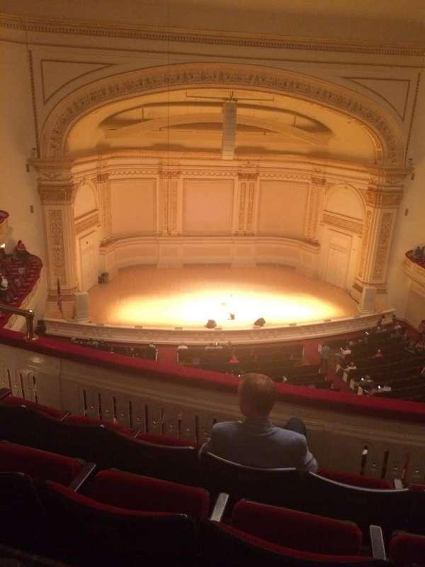 Carnegie Hall, Abschnitt: Dress Circle LC, Reihe: DD, Platz: 11