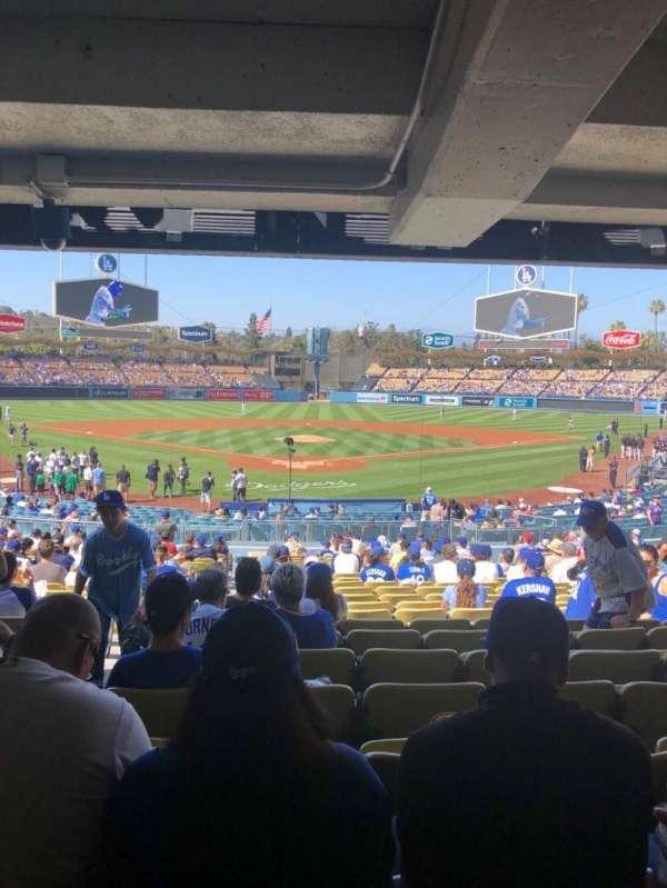 Dodger Stadium, Abschnitt: 2FD, Reihe: DR, Platz: 2