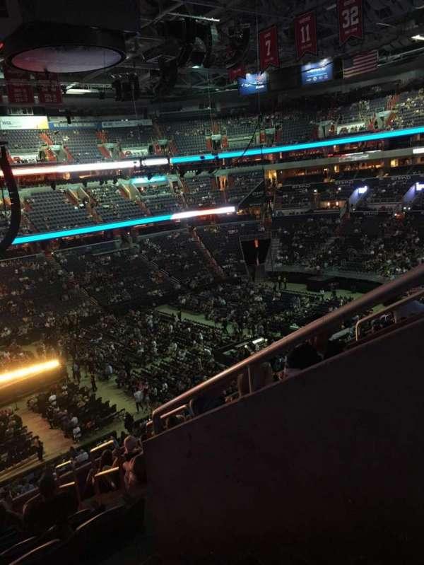 Capital One Arena, Abschnitt: 228, Reihe: K, Platz: 12