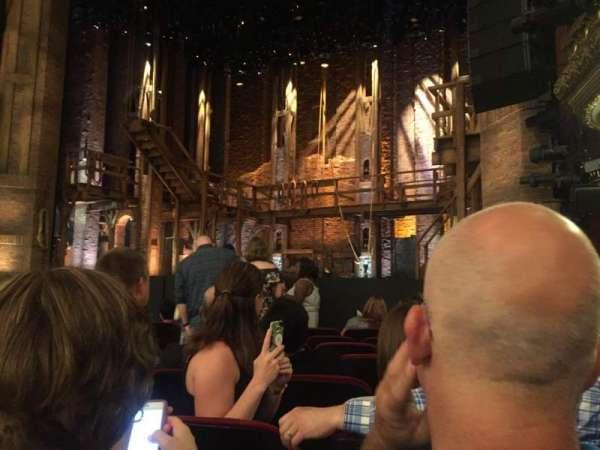 CIBC Theatre, Abschnitt: Orchestra R, Reihe: J, Platz: 12