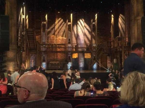 CIBC Theatre, Abschnitt: Orchestra C, Reihe: U, Platz: 105