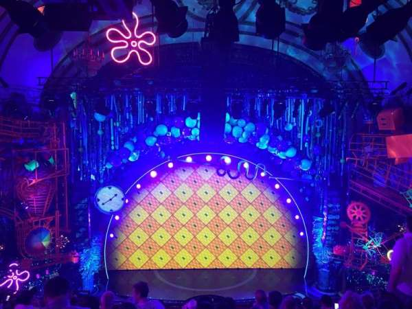 Palace Theatre (Broadway), Abschnitt: Mezz, Reihe: K, Platz: 101
