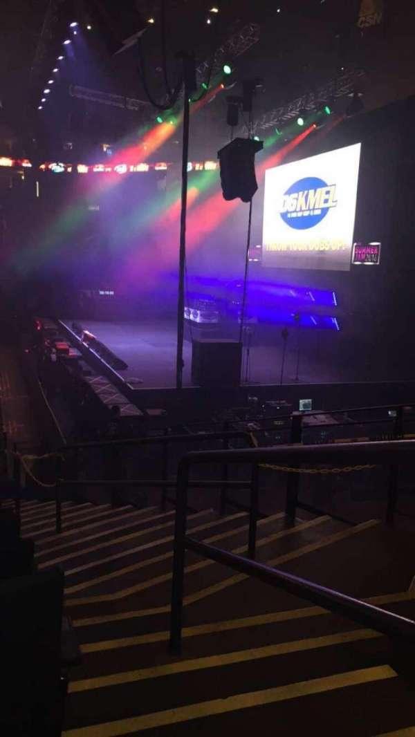 Oracle Arena, Abschnitt: 117, Reihe: 11