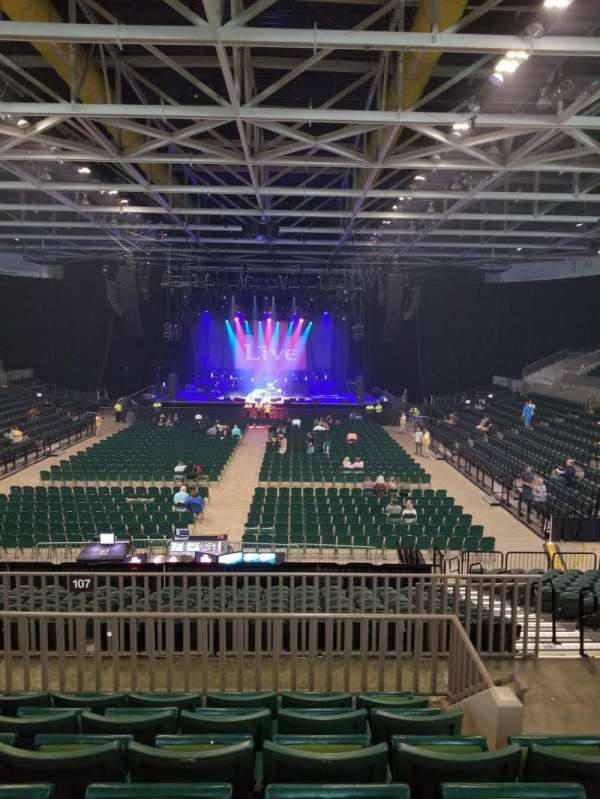 BancorpSouth Arena, Abschnitt: 211, Reihe: 6, Platz: 3