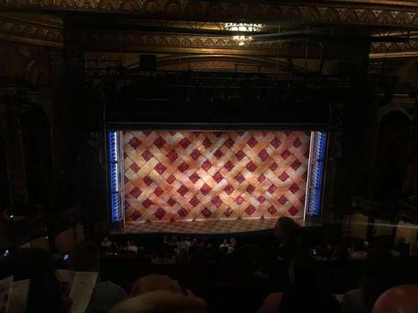 Brooks Atkinson Theatre, Abschnitt: Mezz, Reihe: H, Platz: 120