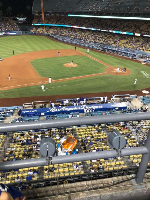 Dodger Stadium, Abschnitt: 19RS, Reihe: A, Platz: 21