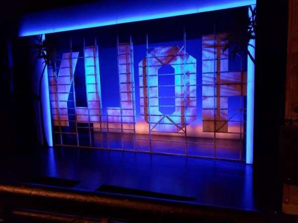 Nederlander Theatre, Abschnitt: Right Mezzanine, Reihe: A, Platz: 2