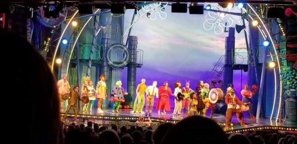 Palace Theatre (Broadway), Abschnitt: Rear Orchestra Center, Reihe: Y, Platz: 118