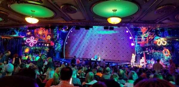 Palace Theatre (Broadway), Abschnitt: Rear Orchestra Center, Reihe: Z, Platz: 118