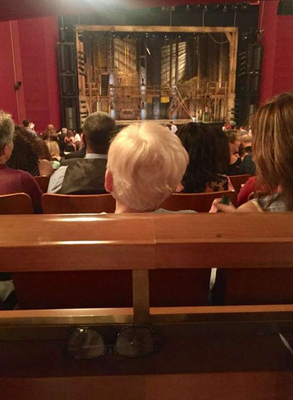 The Kennedy Center Opera House, Abschnitt: Orchestra Center, Reihe: HH, Platz: 120