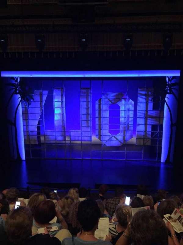 Nederlander Theatre, Abschnitt: Mezzanine Center, Reihe: G, Platz: 105
