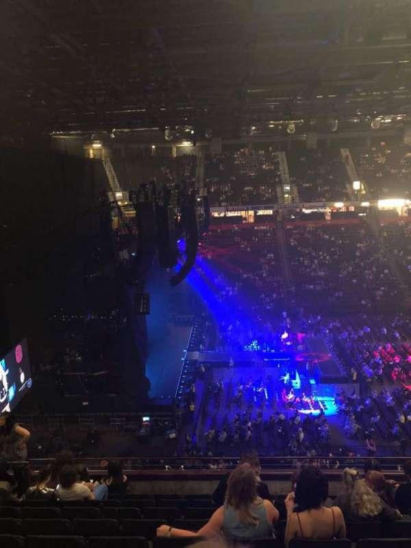 Manchester Arena, Abschnitt: 202, Reihe: J, Platz: 11