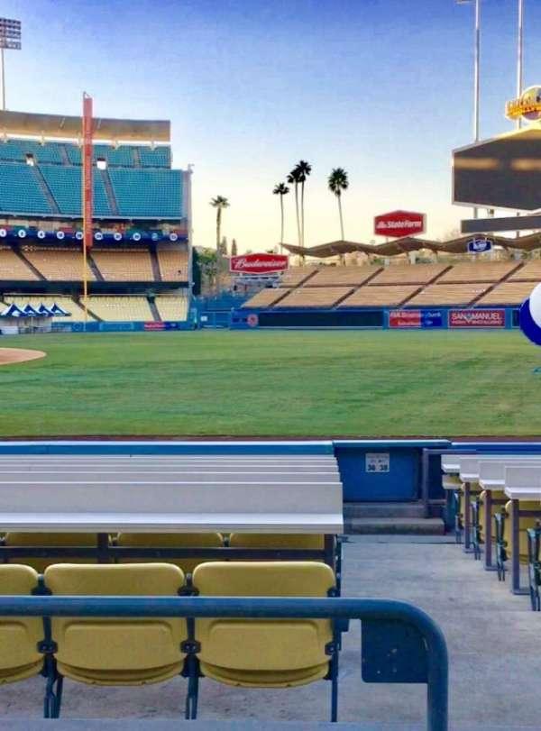 Dodger Stadium, Abschnitt: 36FD, Reihe: C, Platz: 8