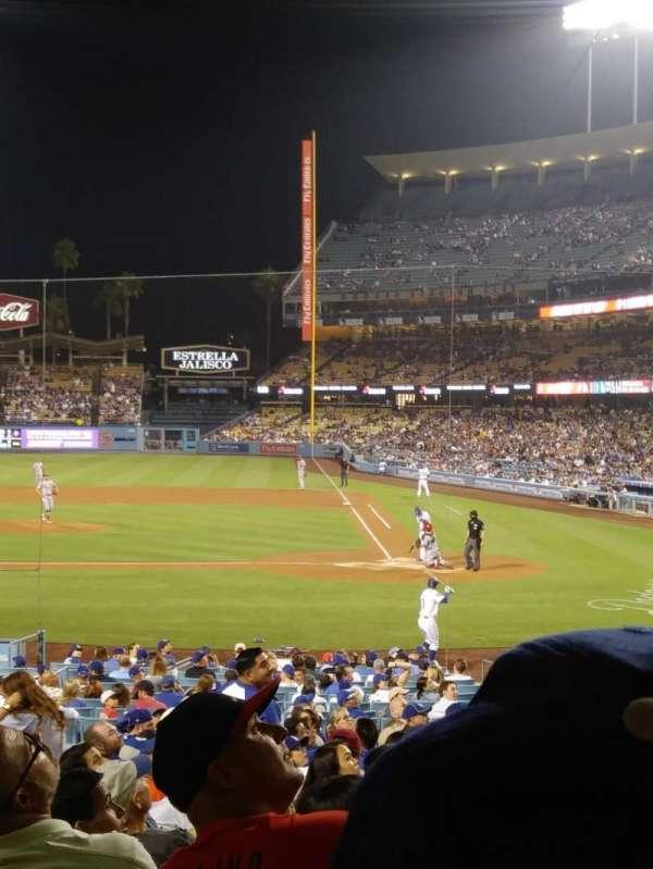 Dodger Stadium, Abschnitt: 11FD, Reihe: U, Platz: 3