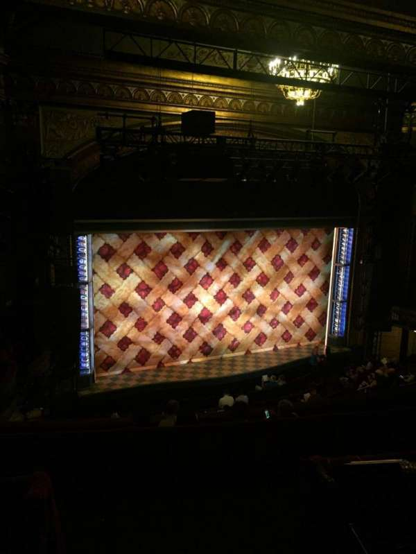 Brooks Atkinson Theatre, Abschnitt: Left Mezzanine, Reihe: G, Platz: 5