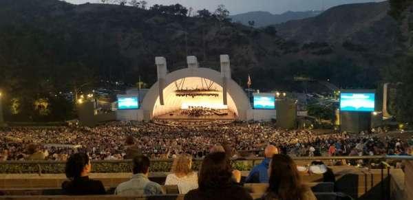 Hollywood Bowl, Abschnitt: R2, Reihe: 6, Platz: 36