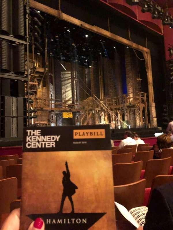 The Kennedy Center Opera House, Abschnitt: Orchestra, Reihe: L, Platz: 15